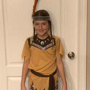 3/$10-Indian Princess/Sacajawea tribal Costume